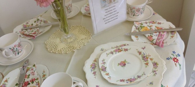 Afternoon Tea – Vintage-style tea parties small or large