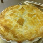 Pie after oven