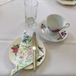 vintage tea party - cups and saucers