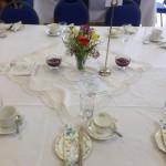 vintage tea party - table decoration