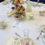 vintage tea party - table