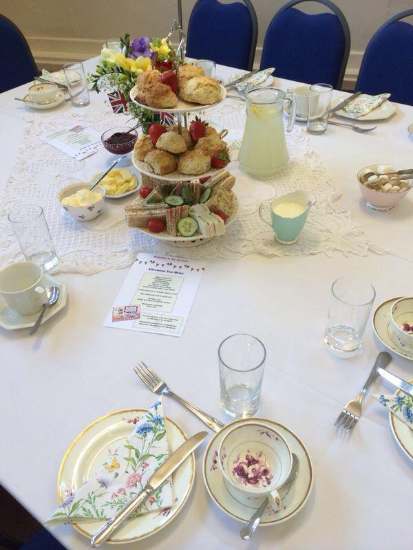 vintage tea party - table