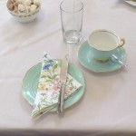 vintage tea party - table place