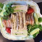 vintage tea party - sandwiches