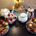 vintage tea party - tea pots