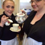 vintage tea party - waitresses