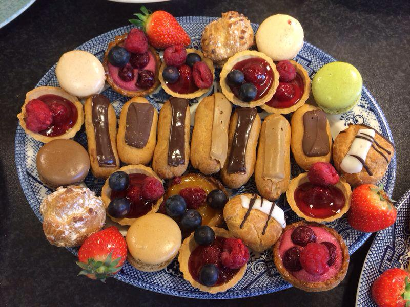 vintage tea party - cakes