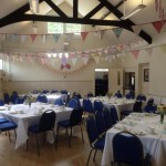 vintage tea party - the room decorated