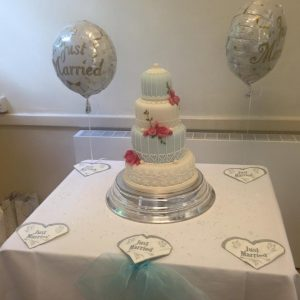 Wedding Cake at Little Bookham Hall