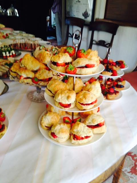 Catering for tea parties - home made scones