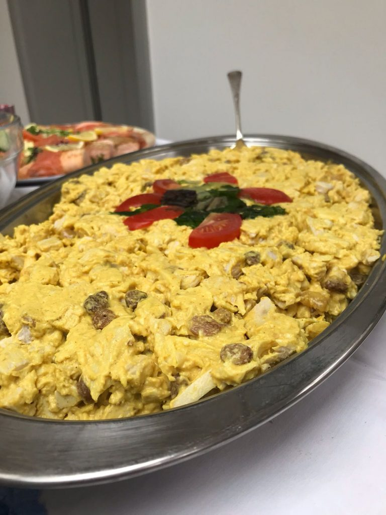 Coronation Chicken - Surrey Catering menus